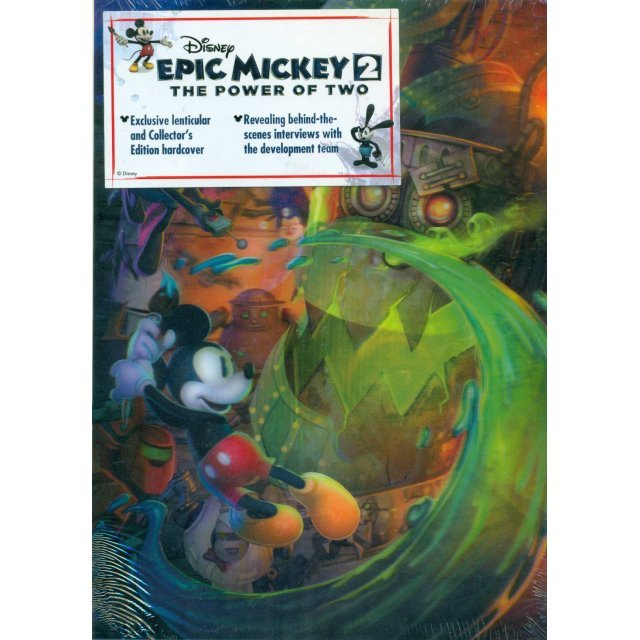 Disney Epic Mickey 2: The Power of Two: Prima Official Game Guide - Collector's Edition