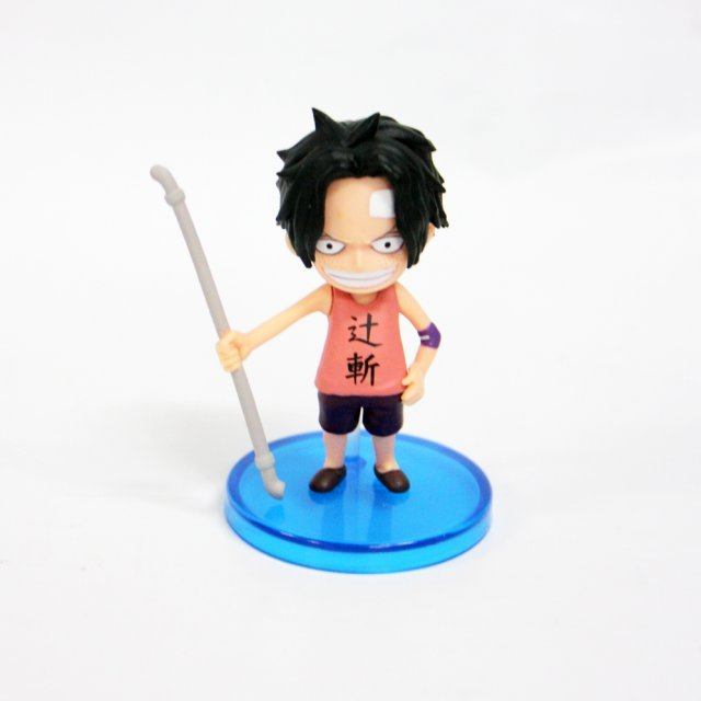 One Piece World Collectable Pre-Painted PVC Figure word : Ace TT07