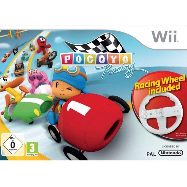 Pocoyo Racing including Racing Wheel