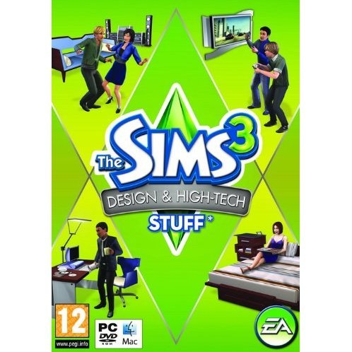 The Sims 3: Design and Hi-Tech Stuff (DVD-ROM)