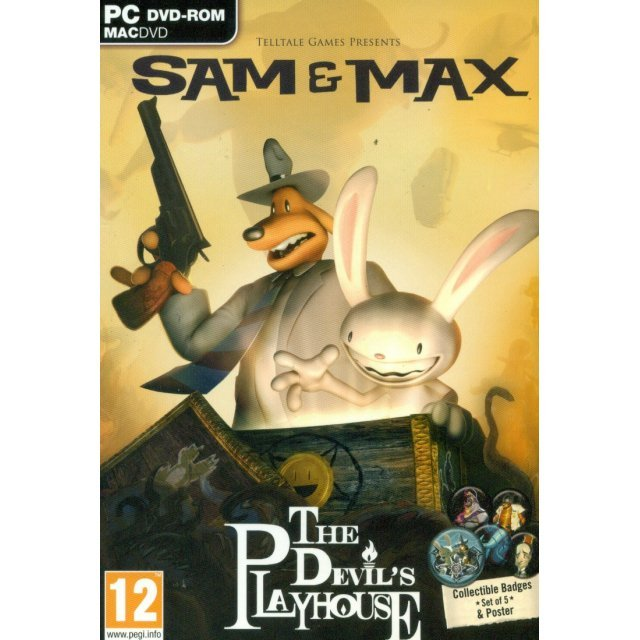Sam & Max: The Devil's Playhouse (Collector's Edition) (DVD-ROM)