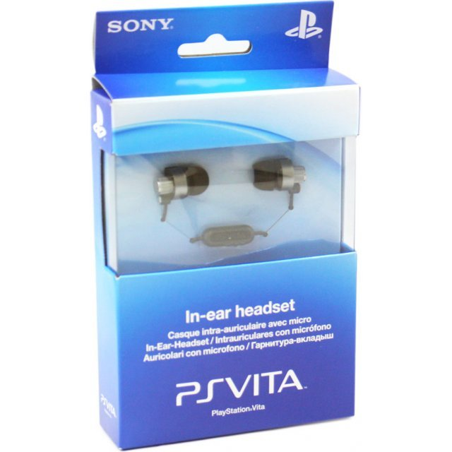 Sony PlayStation Vita Wired In-Ear Headset (Europe)
