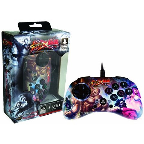 Street Fighter Vs. Tekken Fight Pad SD - Poison Edition