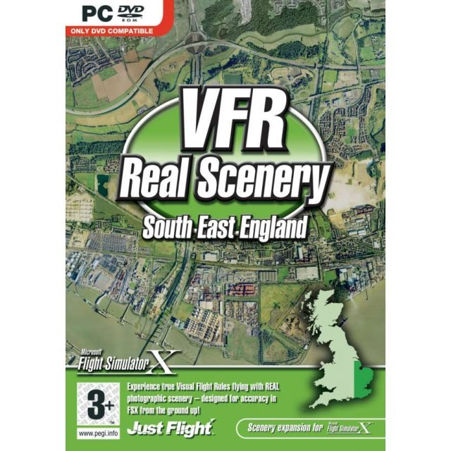 VFR Real Scenery Volume 1: South East England (DVD-ROM)