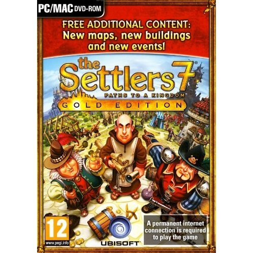 The Settlers 7: Paths to a Kingdom (Gold Edition) (DVD-ROM)