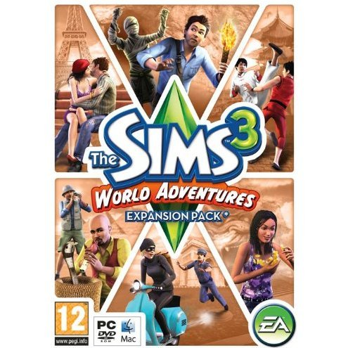 The Sims 3: World Adventures (Expansion Pack) (DVD-ROM)