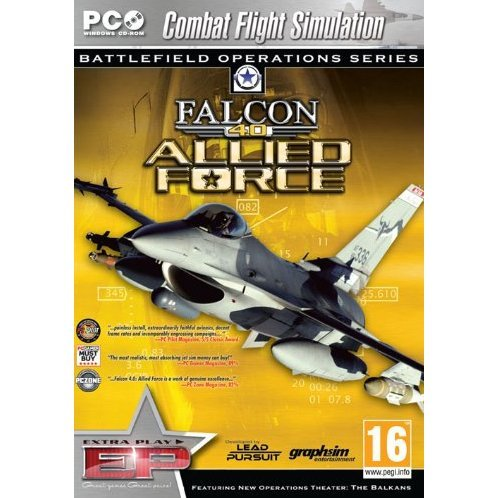 Falcon 4.0: Allied Force (Extra Play)