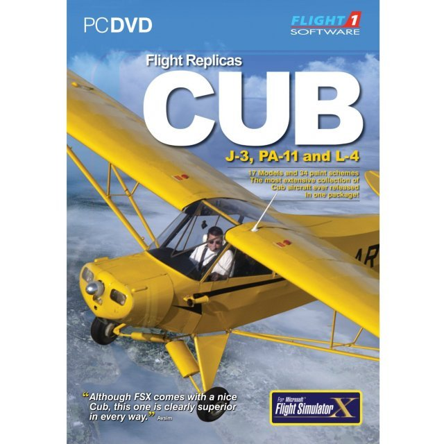 Flight Replicas Cub (DVD-ROM)