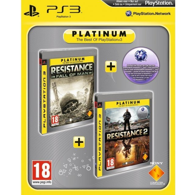 Resistance: Fall of Man & Resistance 2 (Platinum Double Pack)