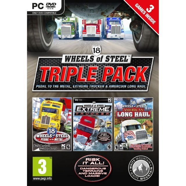 18 Wheels of Steel: Triple Pack (DVD-ROM)