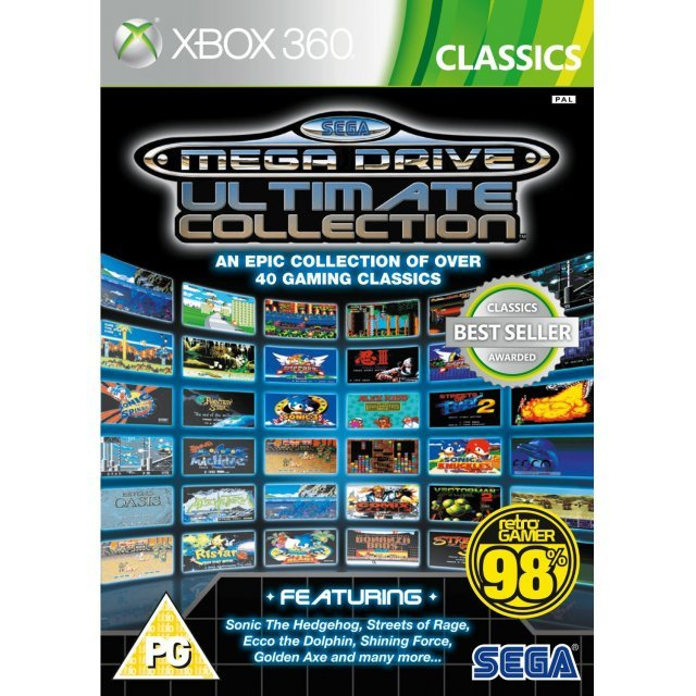 SEGA Mega Drive Ultimate Collection (Classics)