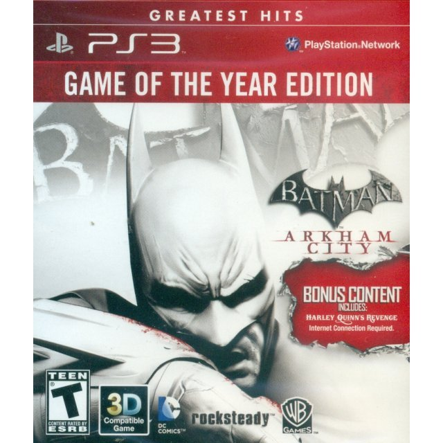 Batman: Arkham City (Game of the Year) (Greatest Hits)