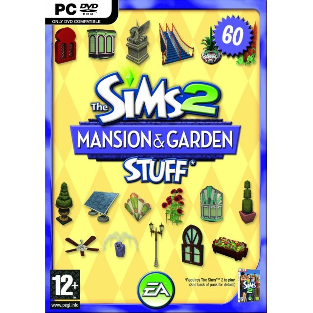 The Sims 2 Mansion & Garden Stuff (DVD-ROM)