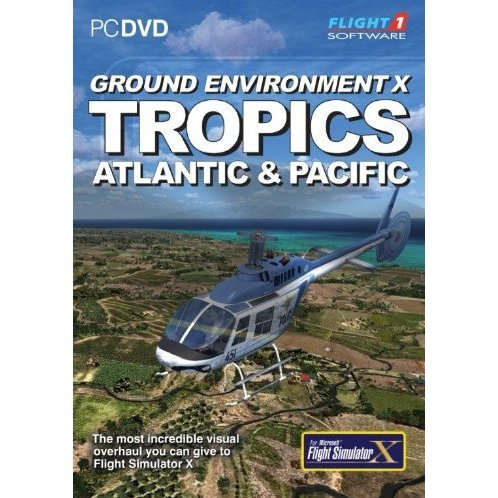 Ground Environment X: Tropics for FSX (DVD-ROM)