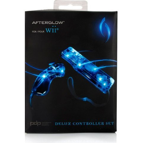 Afterglow AW.3 Remote and Nunchuk Twin Pack (Blue)
