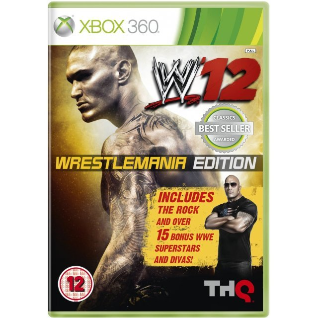 WWE '12 (WrestleMania Edition)