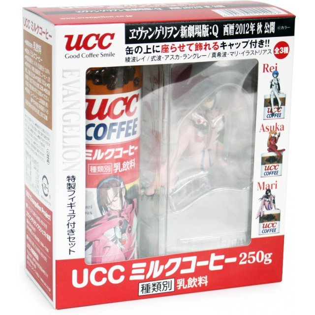 UCC Milk Coffee Evangelion The Movie Q : Mari