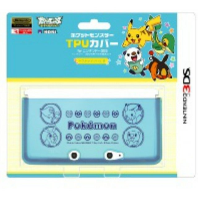 Pocket Monster TPU Cover for Nintendo 3DS [Best Wish B Version]