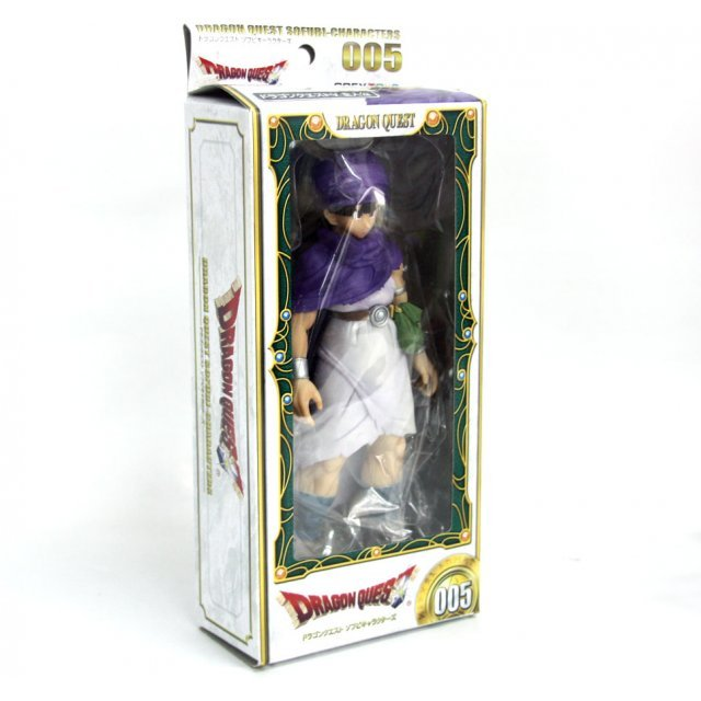 Dragon Quest Non Scale Pre-Painted Soft Vinyl Figure:  Dragon Quest V Hero