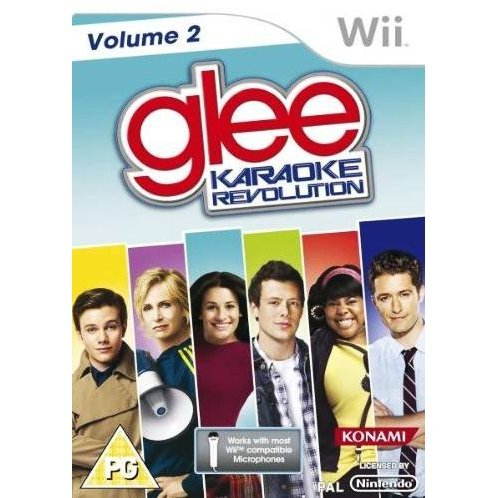 Karaoke Revolution Glee: Volume 2 (w/ Microphone)