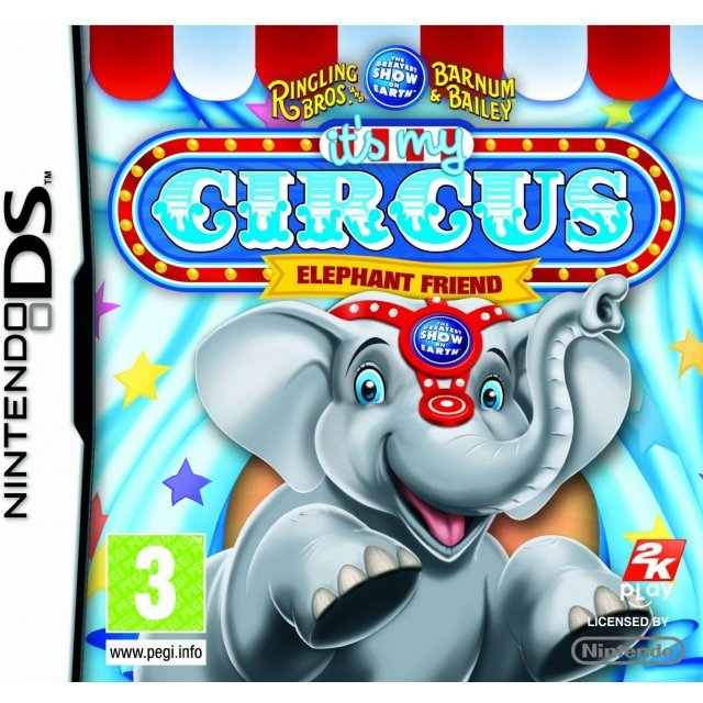 It's My Circus! Elephant Friend
