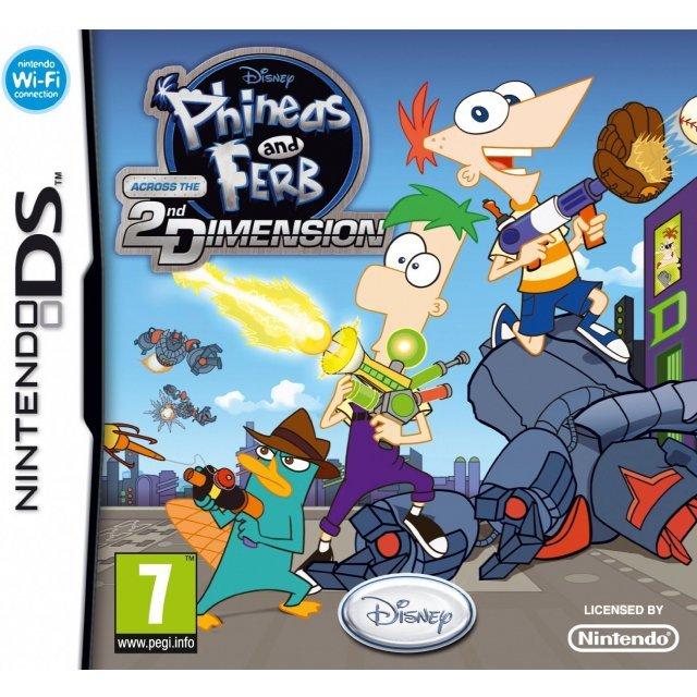 Disney Phineas and Ferb: Across the 2nd Dimension