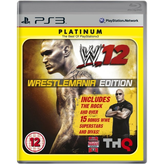 WWE '12 (WrestleMania Edition) (Platinum)