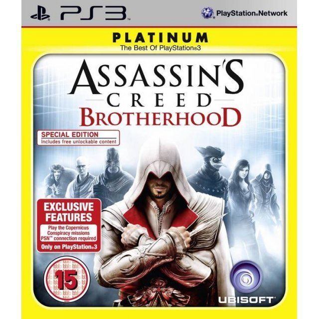 Assassin's Creed: Brotherhood (Platinum)