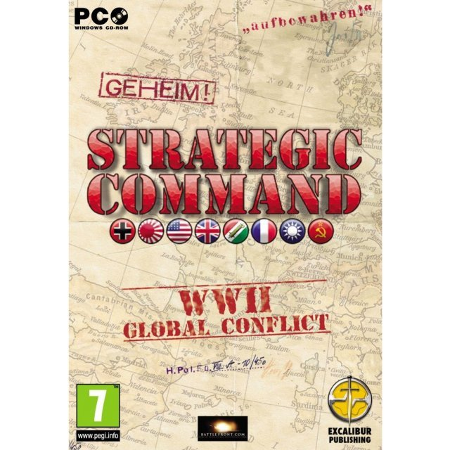 Strategic Command WWII Global Conflict (DVD-ROM)