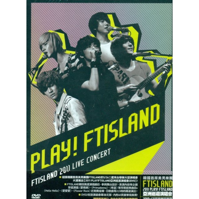 FTISLAND - 2011 Play! FTISLAND [2DVD+Photobook]