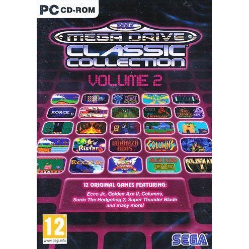 Sega Mega Drive Classic Collection - Volume 2 (DVD-ROM)