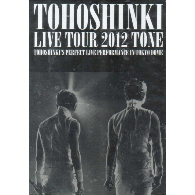 Dong Bang Shin Ki / Tohoshinki Live Tour 2012 - Tone [Limited Edition]