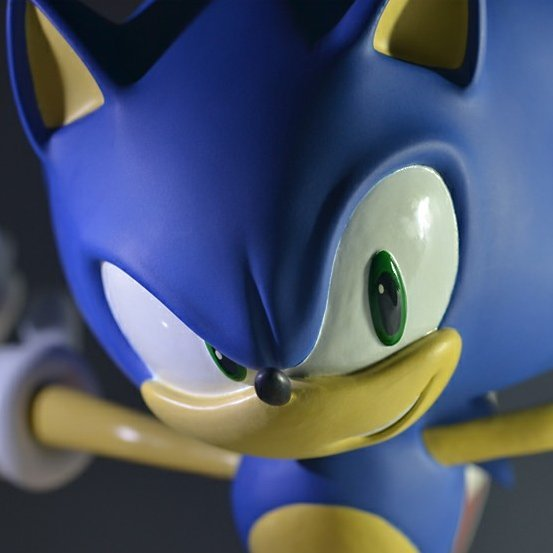 Sonic The Hedgehog - 15 inch Statue: Modern Sonic