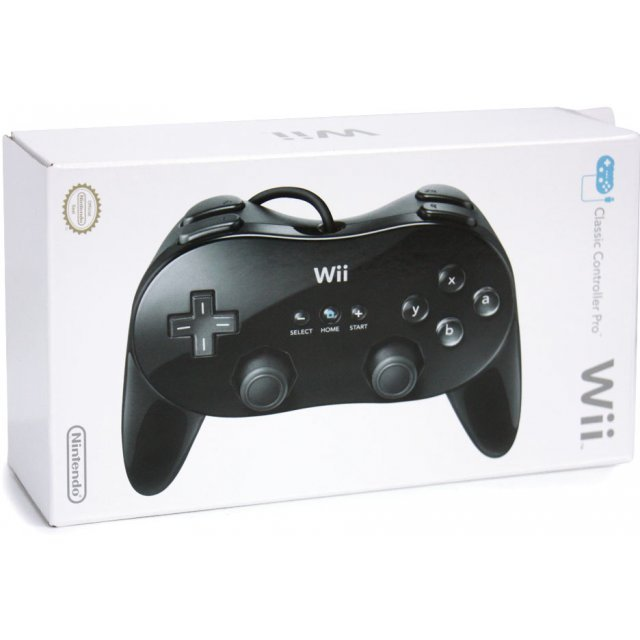 Wii Classic Controller Pro (Black)