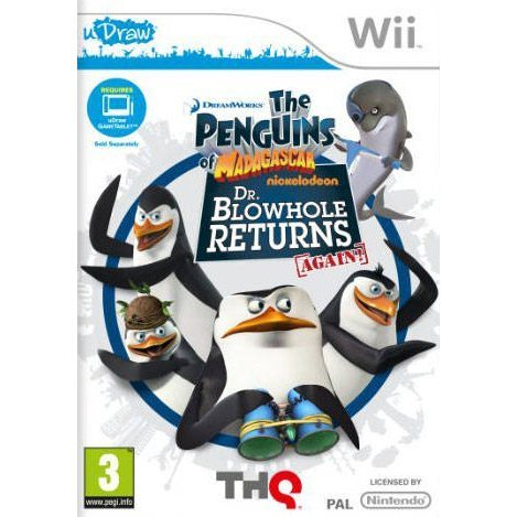 Penguins of Madagascar: Dr. Blowhole Returns - uDraw