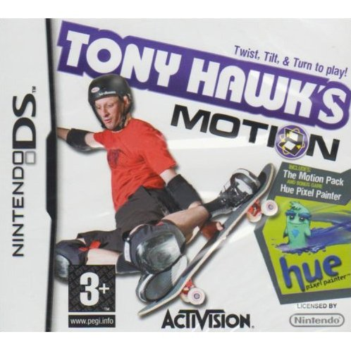 Tony Hawk's Motion/Hue Pixel Painter