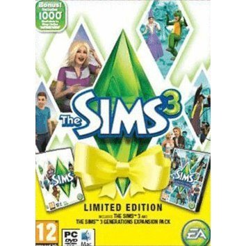 The Sims 3 Generations Limited Edition (Comes with 1000 Points) (DVD-ROM)