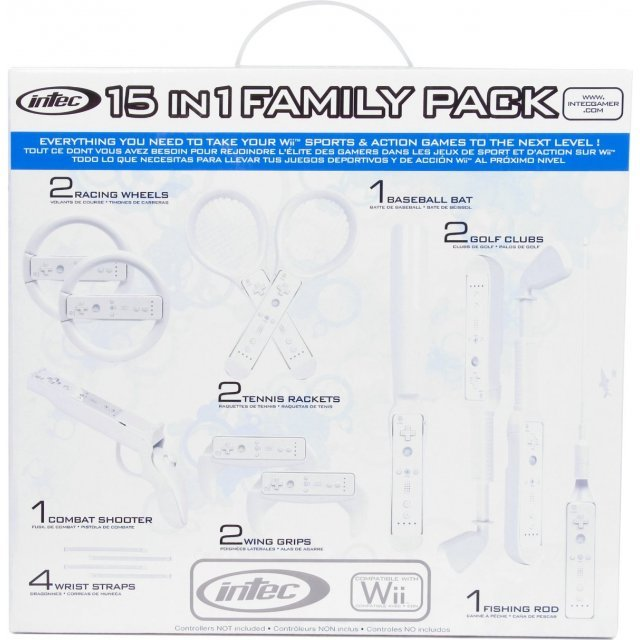 Wii 15-in-1 Family Pack (White)