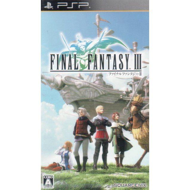 Resultado de imagem para psp Final Fantasy III