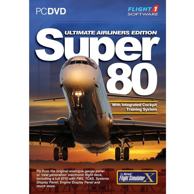 Super 80: Ultimate Airliner Edition (DVD-ROM)