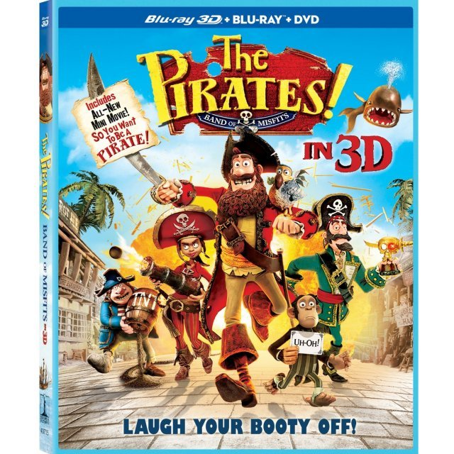 The Pirates! Band of Misfits in 3D