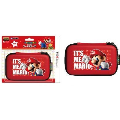 Super Mario Hard Pouch 3DS (Red) [Mario Up Version]