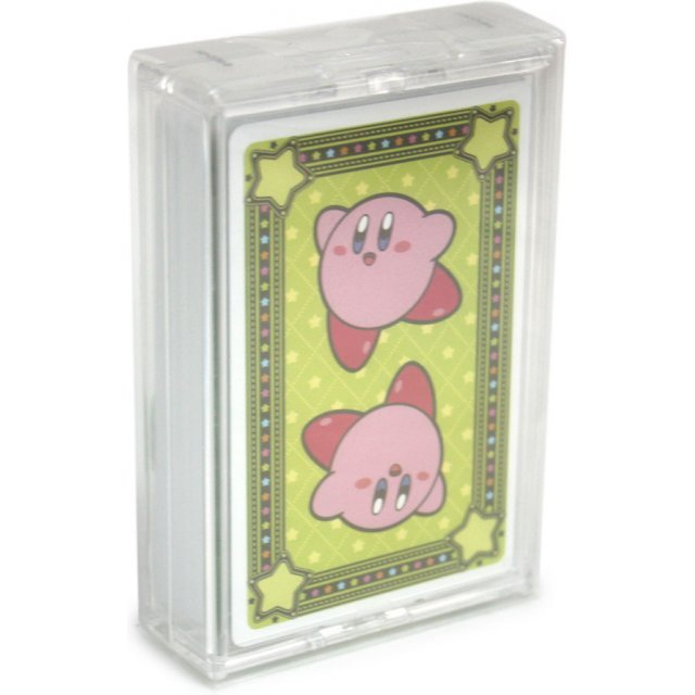 Kirby Trump Playing Cards - Green Version