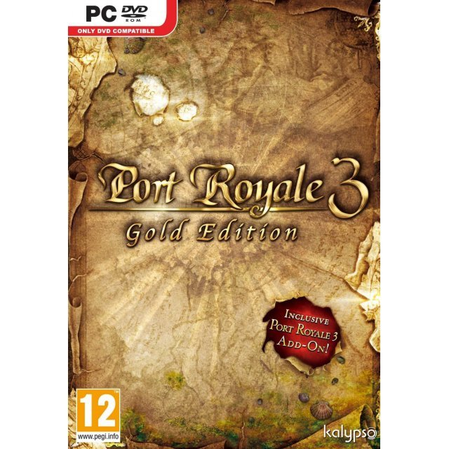 Port Royale 3: Gold Edition (DVD-ROM)