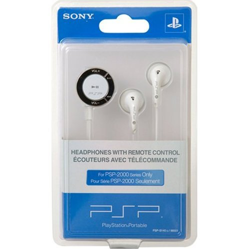 Sony PSP Headphones with Remote Control (2000 Series)