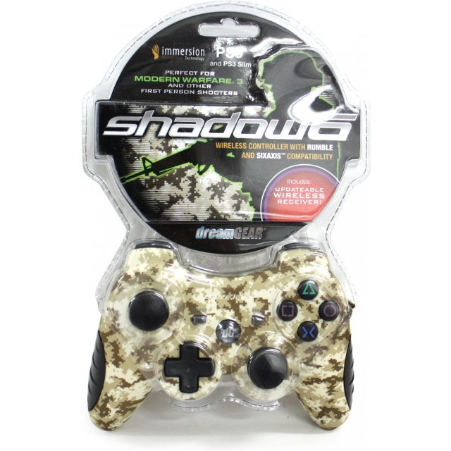 DreamGear Shadow 6 Wireless Controller (Camouflage)