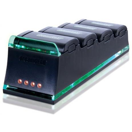 DreamGear QUAD Dock Pro (Batteries Sold Seperately) (Black)