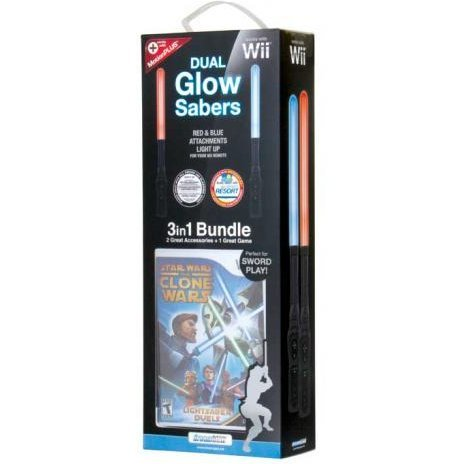 DreamGear Dual Glow Sabers 3 in 1 with Game