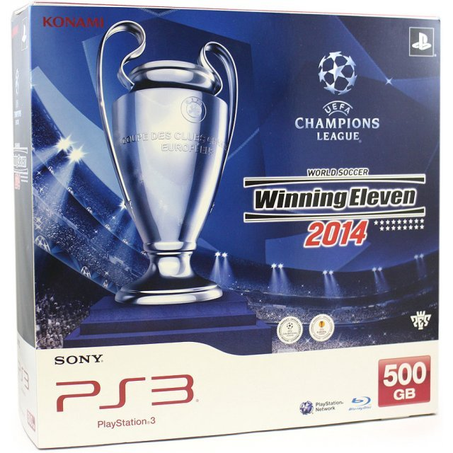 PlayStation 3 Console - World Soccer Winning Eleven 2014 Bundle (500GB Black)