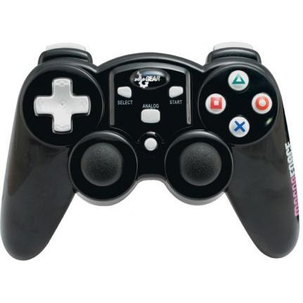 DreamGear MAGNA FORCE 2.4GHZ RF WIRELESS CONTROLLER (Black)